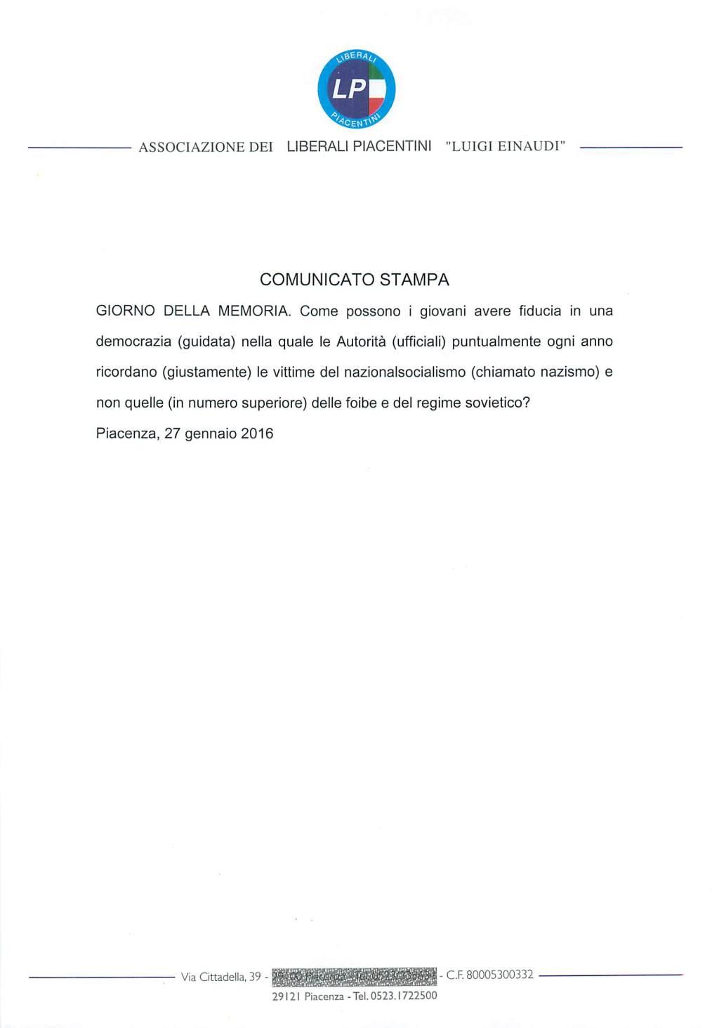 comunicato-27-01-2016
